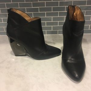 United Nude black booties